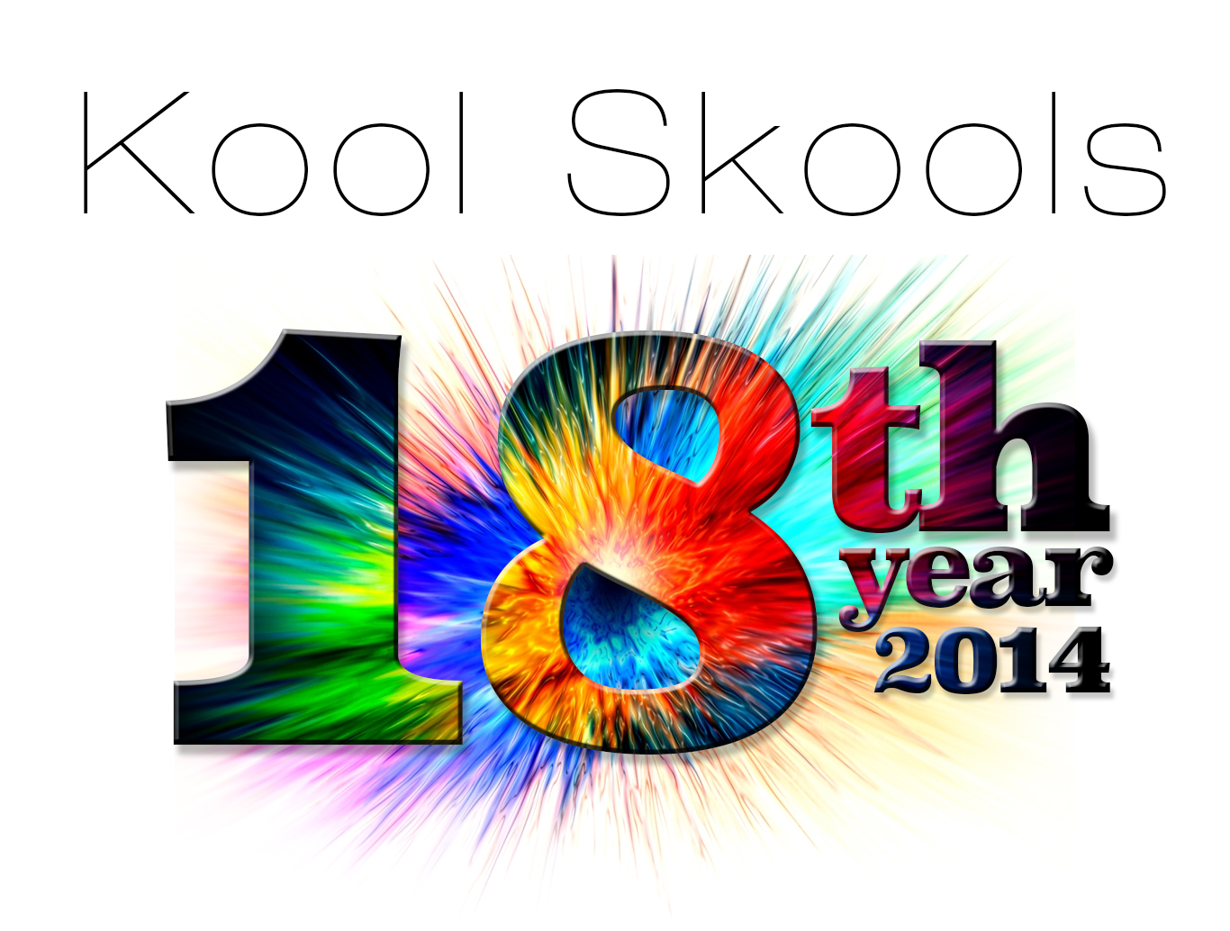 Kool Skools 18th year logo