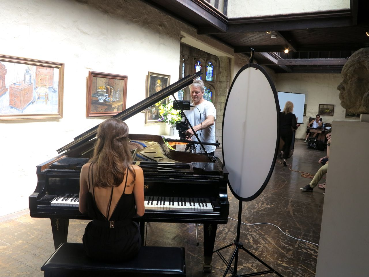 Making of the music video of Son Of Korah single by Anna Mannering thru Empire and MGM