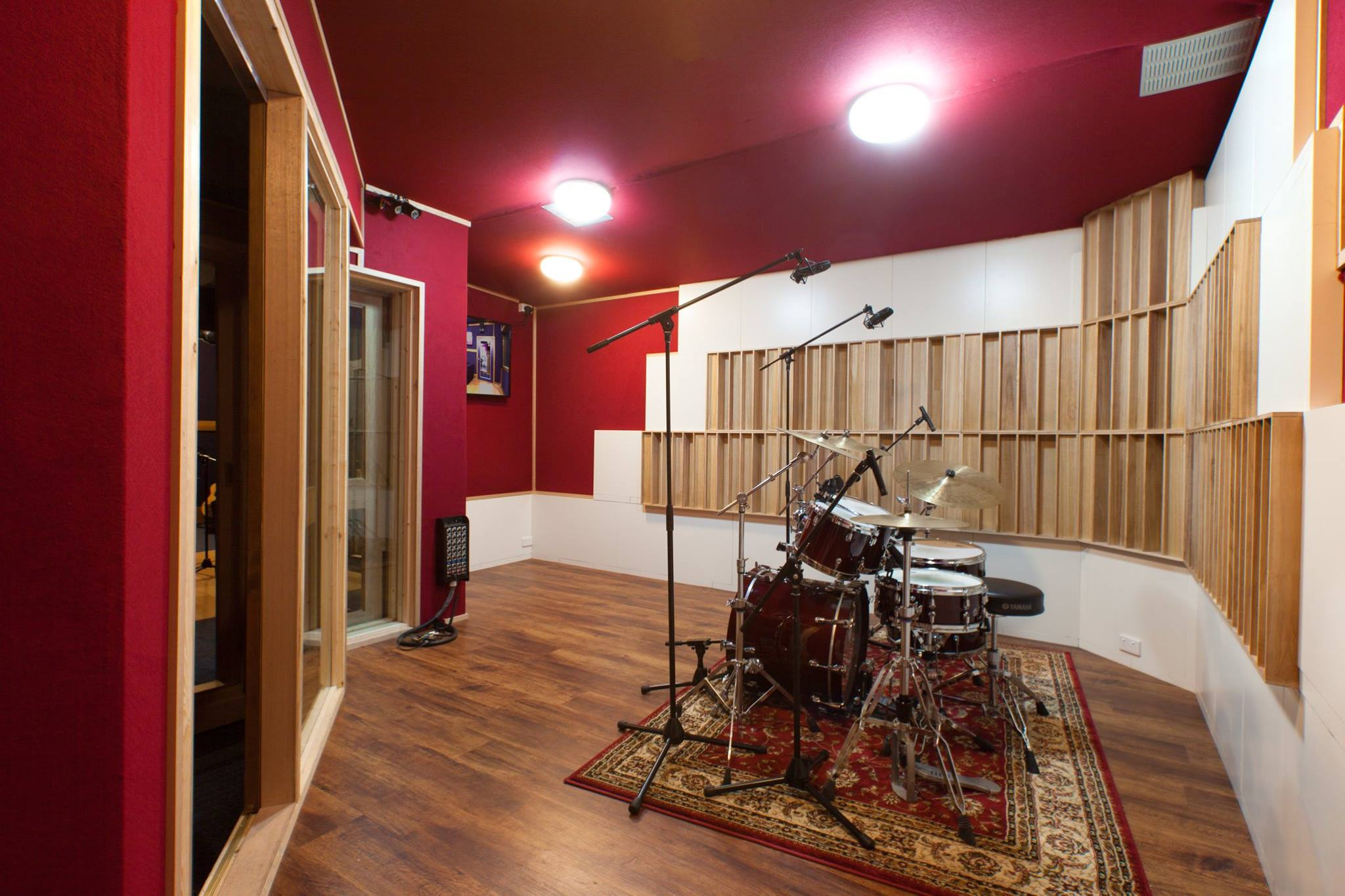 Studio C drum booth