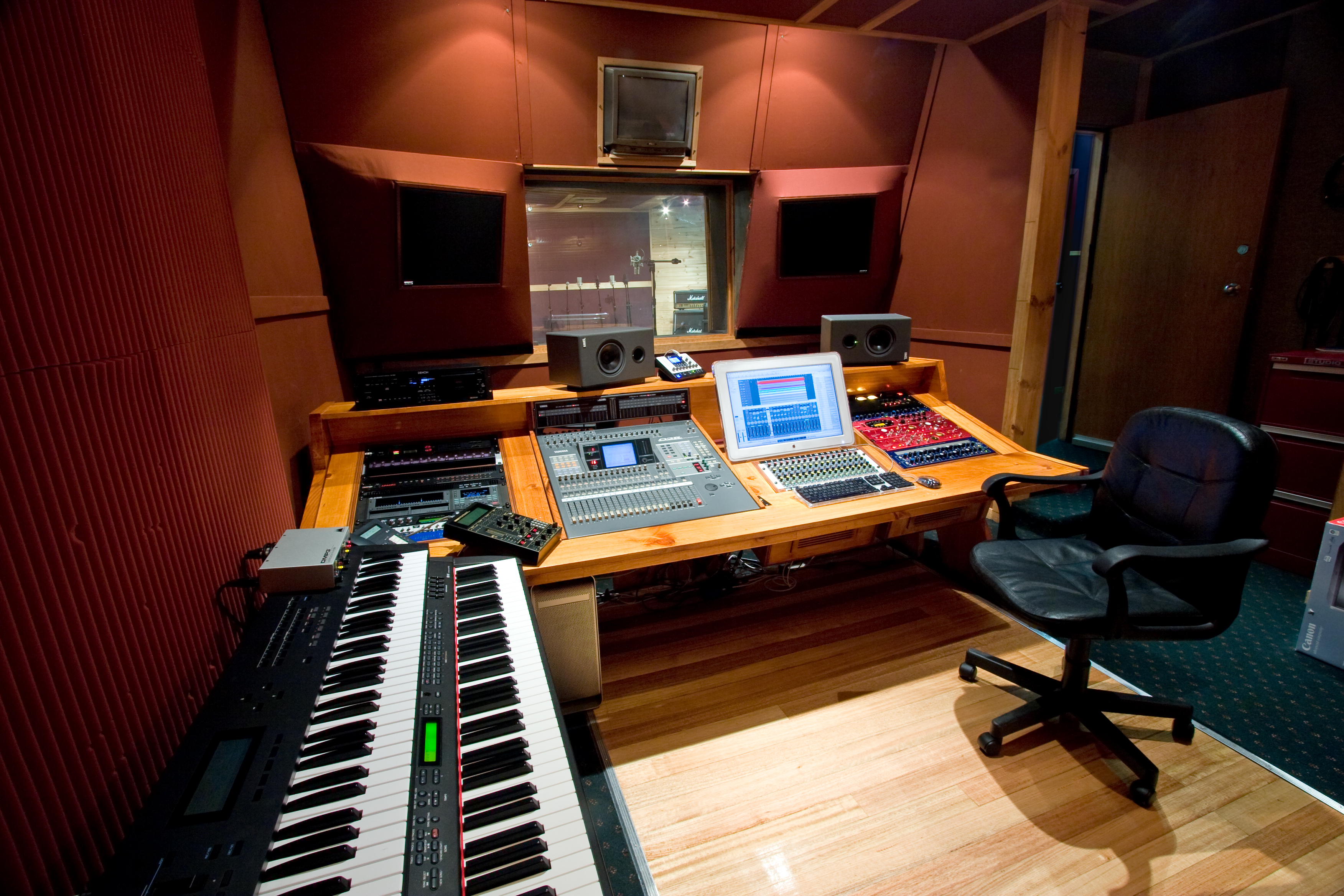 One of 3 music studios at Studio 52